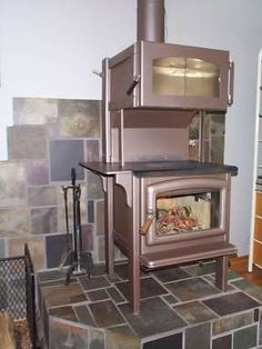 Homemade wood cook stove