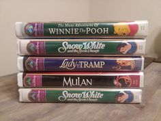 Lot Of Walt Disney VHS Video Tapes MASTERPIECE COLLECTION Classic RARE VINTAGE