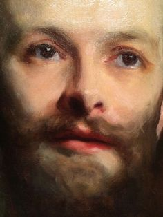 Portrait of George Henschel [detail] -- by John Singer Sargent