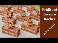 Puddings, Candies, Macarons, Tiramisu, Deserts, Sweets, Youtube, Recipes, Romanian Recipes