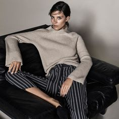 Luxe knitwear and smart stripes take you from work to play | Witchery First Edition