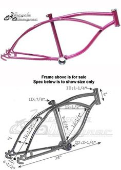 Long Twisted Bicycle Seatpost 22.2mm Chrome Lowrider Beach Cruiser Chopper Bike