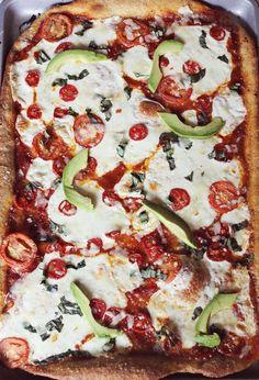 Garlic butter pizza crust!