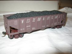 HO Scale Western Maryland Hopper With Coal Load by CrustysToyshop, $7.99