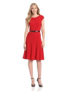 Anne Klein Women's Solid Matte Jersey Dress - List price: $119.00 Price: $71.40 Saving: $47.60 (40%) + Free Shipping