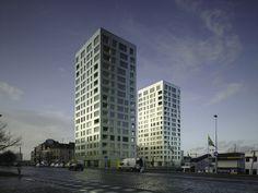 Diener & Diener | Torens Kattendijkdok-Westkaai, Antwerpen
