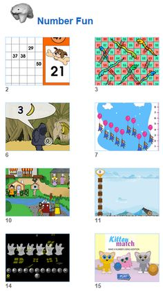Fun math activities for kids and their teachers from Johnnie's Math Page.