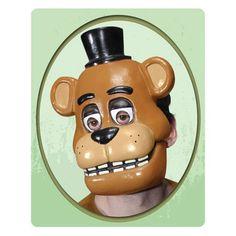 Five Nights at Freddy's Freddy Mask - Rubies - Five Nights at Freddys - Costumes at Entertainment Earth