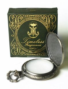 Lily of the Valley solid perfume. Victorian Trading Co.