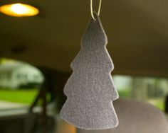 Natural car air freshener! Could you old wool sweaters that have been felted!