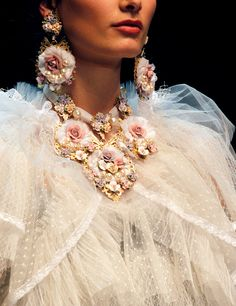 Dolce & Gabbana flower  jewelry