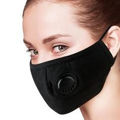 strylin Protective Dust Mask, Adjustable Air Filter Mask, Breathing Valve Mask, Washable Mouth Cover Mask, Dustproof Safety Mask Respirator with Breath Valve for Anti-dust Smoke Gas Allergy Allergies, Masque Anti Pollution, Safety Mask, Activated Carbon Filter, Masks For Sale, Mouth Mask, Diy Mask, Mask Design, 3d Design