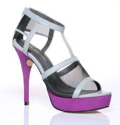 Bold colors, bold heel