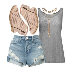 """""""Untitled #12"""" by sarahszejn on Polyvore featuring Kain, 3x1, Lucky Brand and Musse & Cloud"""
