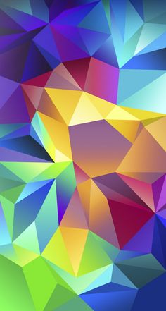 #Colorful #Triangles for the #iPhoneWallpaper!  Find out more galleries at http://iphone5retinawallpaper.com/