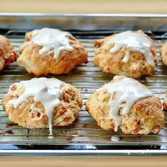 Apricot Yogurt Scones...easy make-ahead breakfast, with not much sugar.