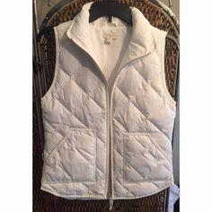 J. Crew Puffer Vest Never worn. NWOT. Willing to negotiate price! J. Crew Jackets & Coats Vests