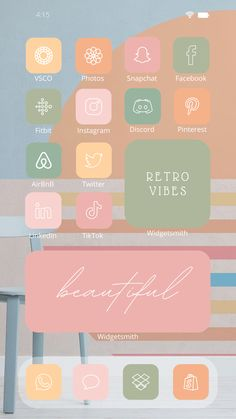 Take a closer look at our newest home screen design influenced by the characteristics and trends of the past. We are bringing back old and well-loved color combinations of the '70s, '80s, and 90's to adopt the latest technology in digital design. Be captivated and inspired with this iOS Pastel Retro Aesthetic App icon pack brought to you by Laconic Earthling Shop. #LaconicEarthlingShop #ios14icon #ios14idea #aesthetic #aesthetichomescreen #design #pastelretro #retropastel #oldschool #custom #wid Etsy Handmade, Handmade Items, Handmade Gifts, Gifts For Her, Great Gifts, Etsy Business, 2 Instagram, Retro Aesthetic, App Icon