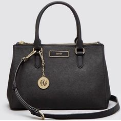 DKNY Saffiano Small Shopper new with tag Black DKNY Saffiano small shopper tote retail price $250 DKNY Bags Totes