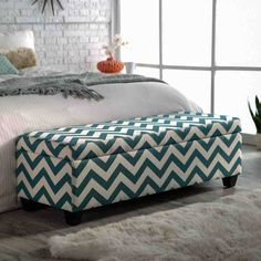 Fabric Storage Ottoman Bench - Home Furniture Design Shoe Storage Ottoman, Storage Bench Bedroom, End Of Bed Bench, Bedroom Storage, Comfortable Sofa, Bed Storage, Small Bedroom, Storage Ottoman Bench, Upholstered Bedroom