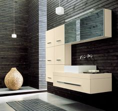 strak afgewerkte badkamer met inbouw kranen badkamer