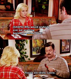 Ron Swanson is my hero