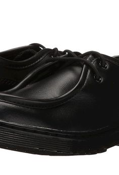 Dr. Martens Kid's Collection Hambleton (Little Kid/Big Kid) (Black Leather) Boy's Shoes - Dr. Martens Kid's Collection, Hambleton (Little Kid/Big Kid), R21793001-001, Footwear Closed General, Closed Footwear, Closed Footwear, Footwear, Shoes, Gift, - Fashion Ideas To Inspire