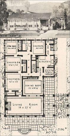 Old unique plan | House Plans I like | Pinterest | Unique, House and ...