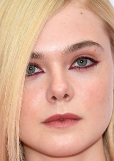 Close-up of Elle Fanning at the 2015 Toronto premiere of 'About Ray'. http://beautyeditor.ca/2015/09/22/tiff-2015