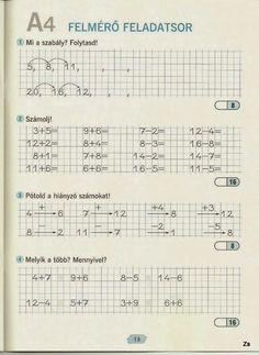 Albumarchívum Homeschool Math, Home Learning, Worksheets, Album, Teaching, Archive, Santa Ornaments, Preschool, Anna