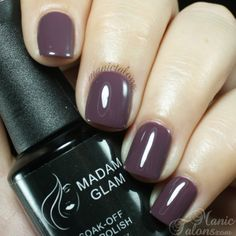 A grey purpleThis rich color will help you create that laid back manicure you are looking for.Swatch by www.manictalons.comDurability : 3 to 4 weeksCuring time : 2 minutes by UV Lamp, 30 sec by LED THEY LOVE IT!Gel Nail Expert...
