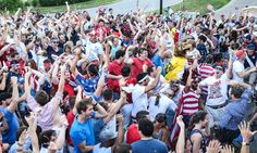 Pin for Later: Here's What Happened When the US Won Its First World Cup Game MAYHEM.