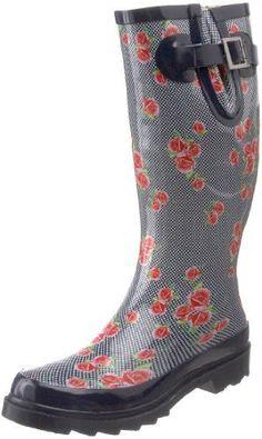 Chooka Women's Dotty Flowers Rain Boot Chooka. $59.99