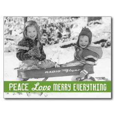 Vintage Holiday Wagon Kids Postcard