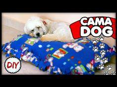 DIY: Como Fazer uma Caminha de Cachorro - Especial Pet #4 - YouTube