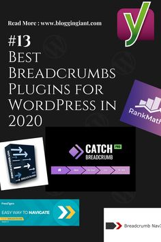 13 Best & Stunning WordPress Breadcrumbs Plugins (All are free) Marketing Tools, Content Marketing, Digital Marketing, Object Oriented Programming, Free Blog, Wordpress Plugins, Blogging For Beginners, Web Development, Seo