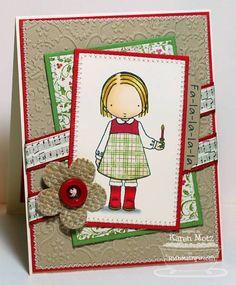 Fa la la la la by Stamper K - Cards and Paper Crafts at Splitcoaststampers