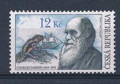 D134131 Famous People Charles Darwin MNH Czech Republic