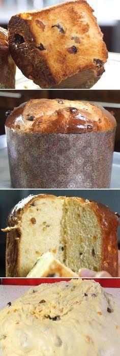 Panettone en 8 pasos Lo Mejor Pan Dulce del Mundo. #panettone #panetone #pandulce #paneton #navideño #navidad #navideña #merrychristmas #postres #cheesecake #cakes #pan #panfrances #panes #pantone #pan #recetas #recipe #casero #torta #tartas #pastel #nestlecocina #bizcocho #bizcochuelo #tasty #cocina #chocolate Si te gusta dinos HOLA y dale a Me Gusta MIREN... Cake Recipes, Dessert Recipes, Desserts, Sweet Dough, Pan Bread, Xmas Food, Sweet Bread, No Bake Cake, Mexican Food Recipes