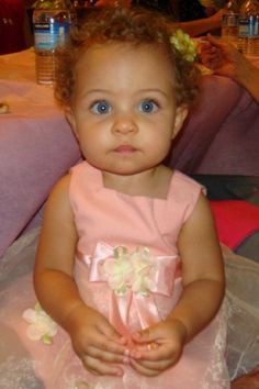 @Barbara Lepinski... red headed bi racial baby.. this could be mine
