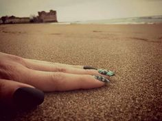 #mare#castello#santaservera#isoladelpescatore#sabbia#unghie#nails#neropaco#fixelnailalaboratory