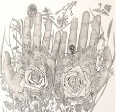Written hands