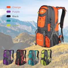 0eddff6fb7 50L Waterproof Outdoor Climbing Bag Camping Travel Mountaineering Backpack  NEW