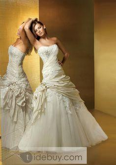 I do want lace, but I also want a unique dress. This is unique. :)