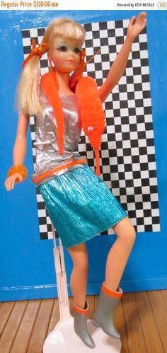 ON SALE Vintage Barbie Doll PJ Tnt Bendable Legs by DressMeDoll