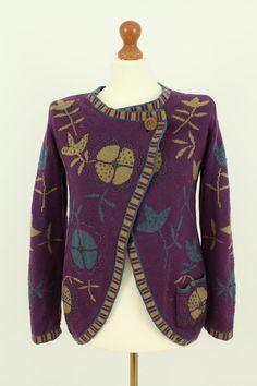 Gudrun Sjoden Women's Wool Sweater Cardigan Size M   eBay