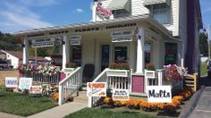 Emery's Ice Cream, Corydon - home made ice cream and old fashioned candies and great service. What more can you ask for? We will be visiting her often.