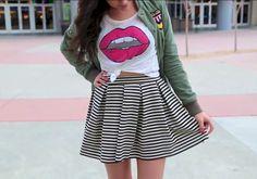 Bethany Mota style #aeropostale #clothingline