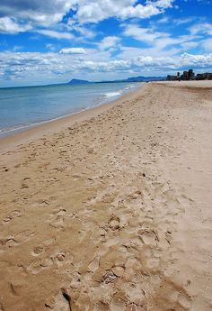 Gandia Spain Beach