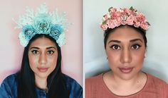 To This Woman, Her Flower Crowns Are Not Just Festival Accessories